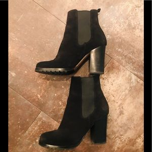 Coach Black Odelle 7.5 booties